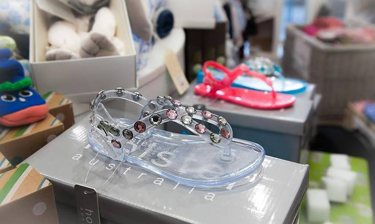 Clear and Coloured Sandals are now in Store at Bon Bon Tresor