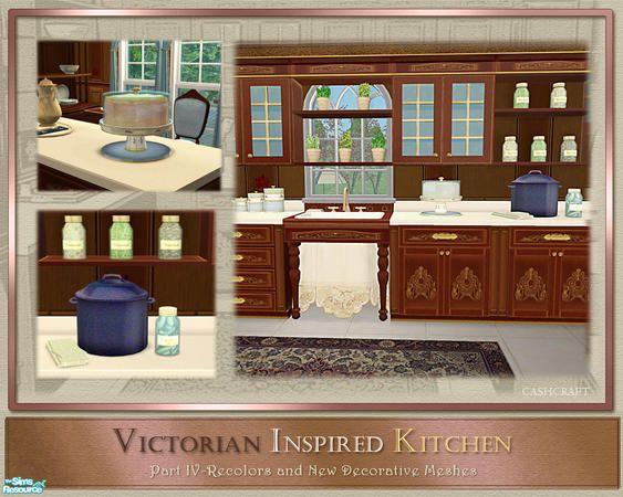 cashcraft's Victorian Inspired Kitchen Part IV