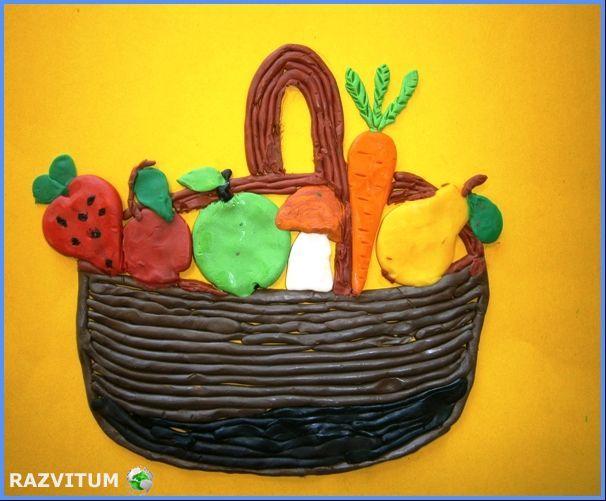 Солтанова Софья 7 лет, «Осенний урожай»