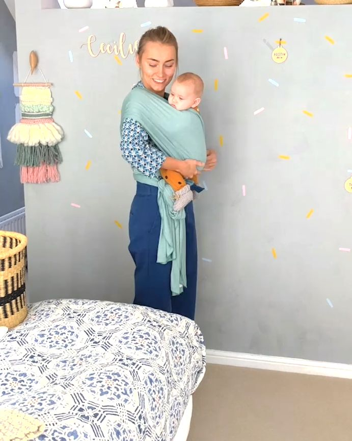 How to place a baby in the Fornessi carrier The be…