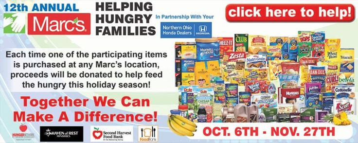 Join us along with @marcsstores in Helping Hungry Families this holiday season #giving #holidays
