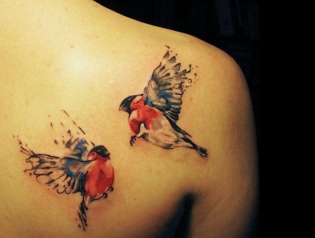 31 Awesome Bird Tattoos for Men and Women