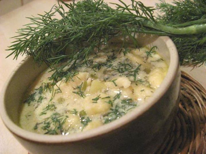 Zupka ogórkowa