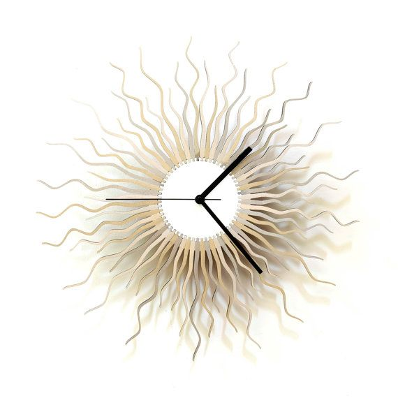 36 best wall clocks by ardeola images on Pinterest Wooden walls
