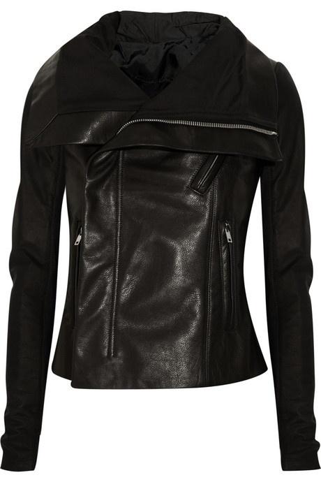 Rick Owens contrast leather biker jacket mjacobslove21