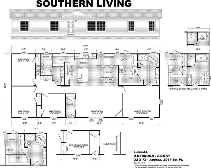 Southern Living Manufactured home, Modular homes