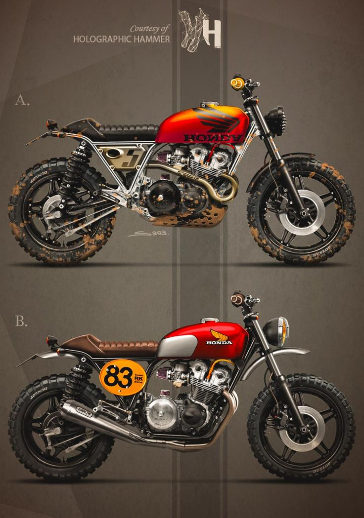 HONDA CB750 (1983) by Holographic Hammer https://www.facebook.com/Holographically.Hammered