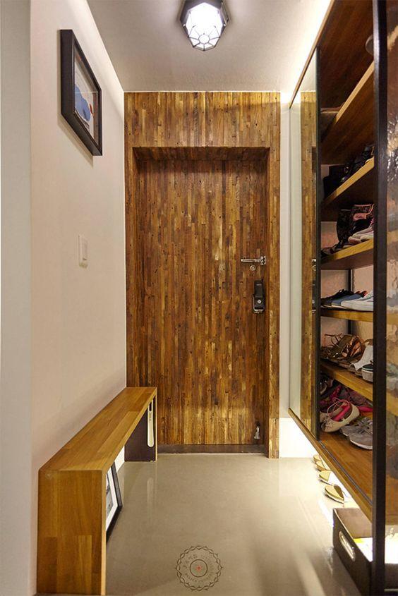 현관 : 인더스트리얼 복도, 현관 & 계단 by 제이앤예림design