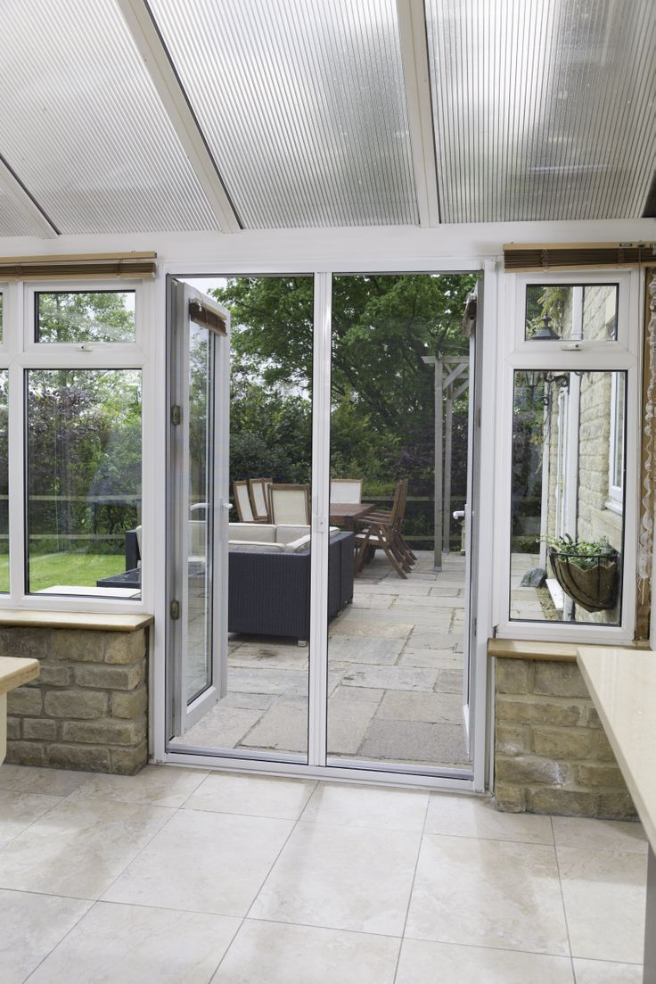 How to make a fly screen door - The Diy Door Fly Screen Seamlessly Blends With The Upvc Conservatory Http