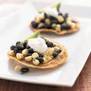 Black Bean & Fresh Corn Tostadas   Williams-Sonoma