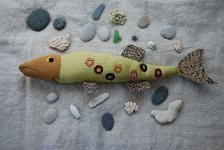 Lovely fabric fish