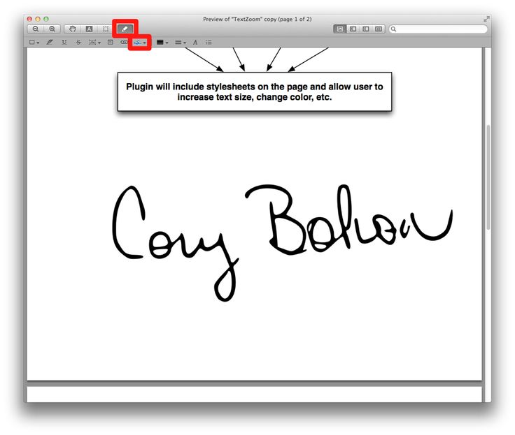 how to create signature on mac