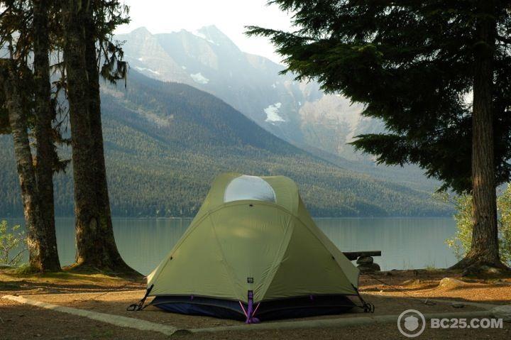 bowron lakes camping