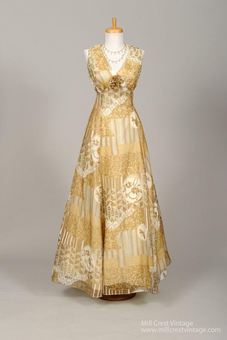 1970 Vintage Evening Dresses