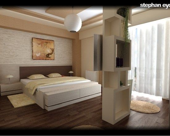 Deco chambre a coucher moderne 686 photo deco maison for Decoration maison interieur idees