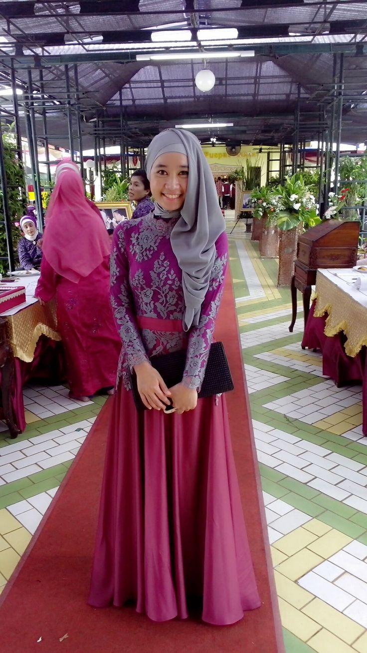 Hijab Party Dress | Kebaya | Pinterest