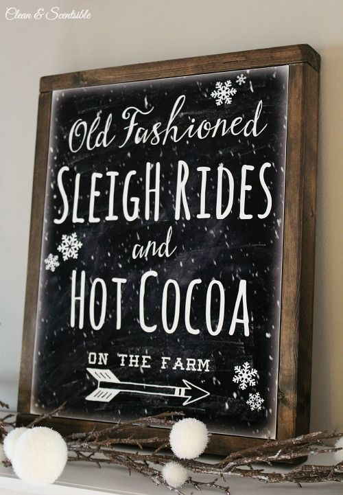 Jenn from Clean and Scentsible made this rustic sign using canvas, Mod Podge, and wooden garden stakes.