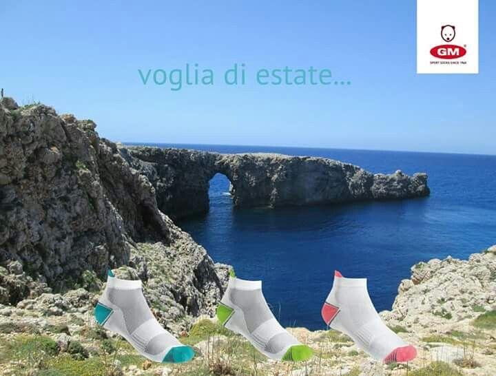 #summer #socks #code2404 #CalzeGM pic by Alessandro Vergari #CalzeGMpeople #Minorca