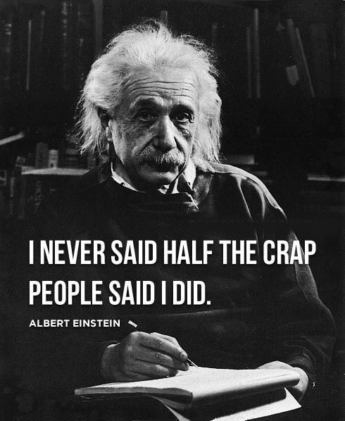 Funny Quotes Einstein: Abe Lincoln, Ben Franklin, Mark Twain And Marilyn Monroe