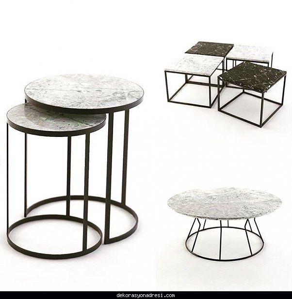 cool MarMORE mermer mobilya tasarımları