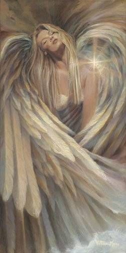 Beautiful artwork, couldn't resist pinning it to my Avena angel series board