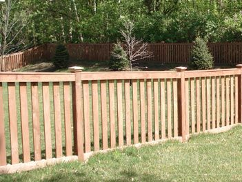 find this pin and more on cedar fencing