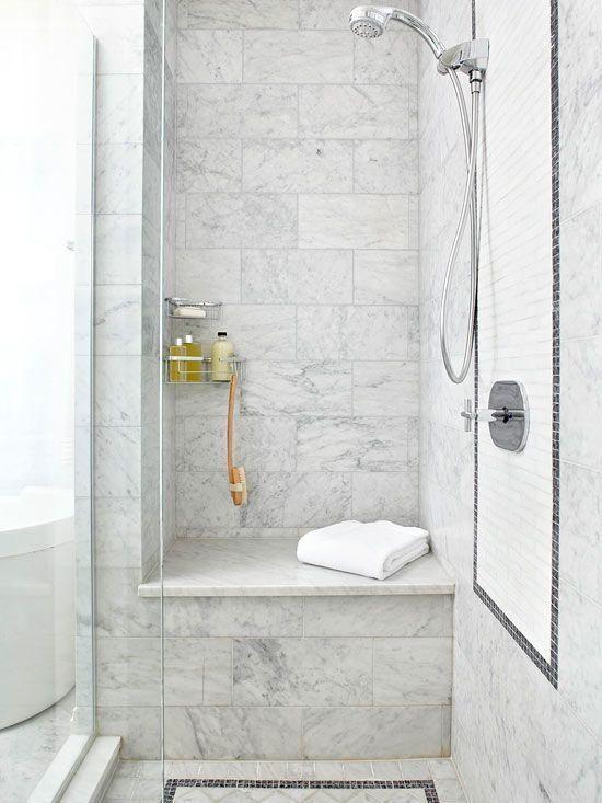 38 best Shower Niche, Bench Seating images on Pinterest | Shower ...