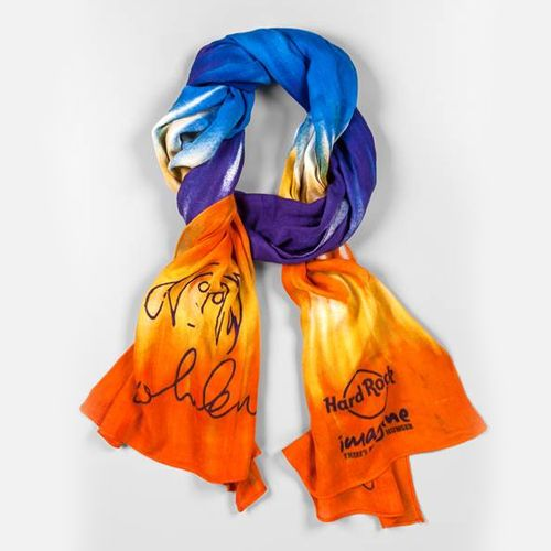 Visit our Rockshop to grab this beautiful scarf. Part proceeds of the sale will go to our local NGOs. #IMAGINE2013