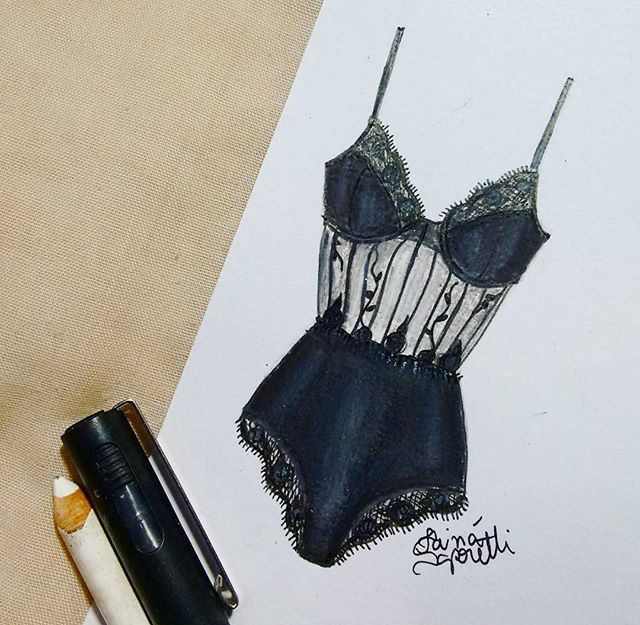 lingerie illustration | ♦F&I♦