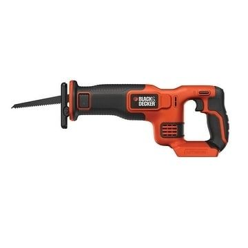 Black+Decker MAX 20 volts Lithium-ion Cordless Reciprocating Saw Bare Tool - Batteries Not Included