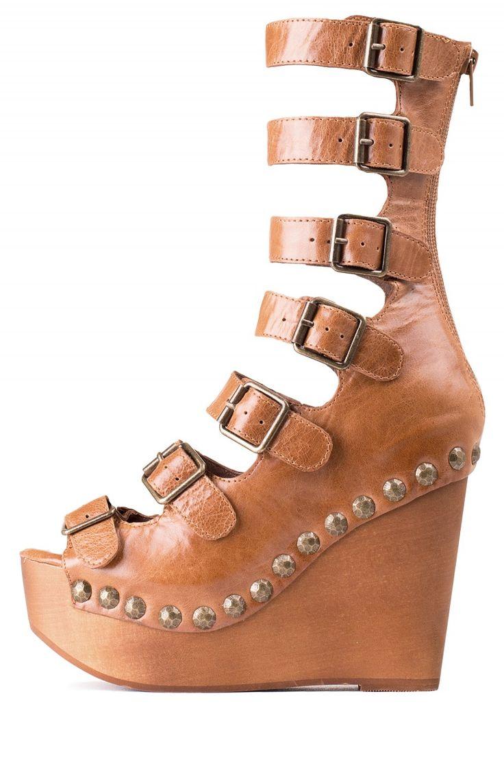 Jeffrey Campbell Shoes OMEGA Platforms in Tan, ♡♡♡♡♡