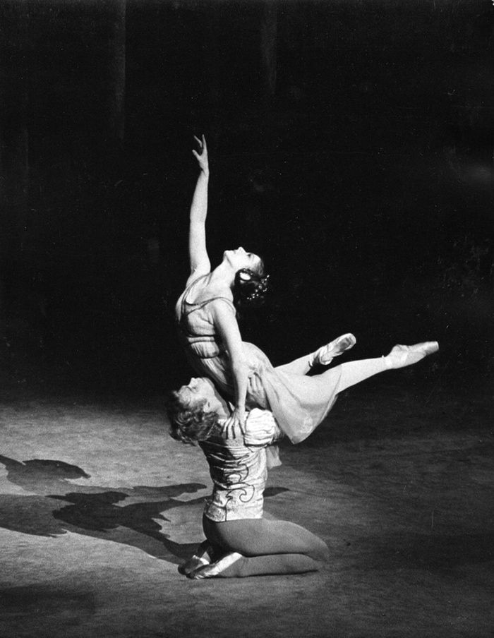 Rudolf Nureyev and Margot Fonteyn at the premiere of Romeo and Juliet Photo by…