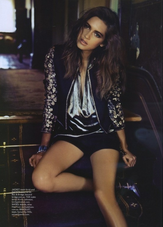 The Bec & Bridge Santa Ana Embroidered Jacket, in Shop til You Drop Magazine, in stores May.