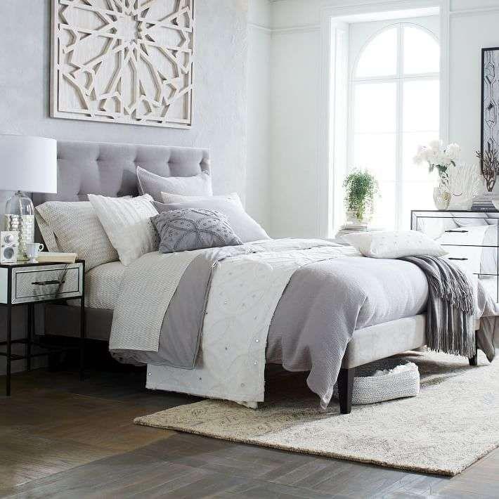 Oltre 25 fantastiche idee su camera da letto grigia su - Letto color tortora ...