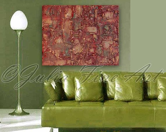 Abstract Sculpture Canvas Mixed Media by by JuliaFineArtGallery