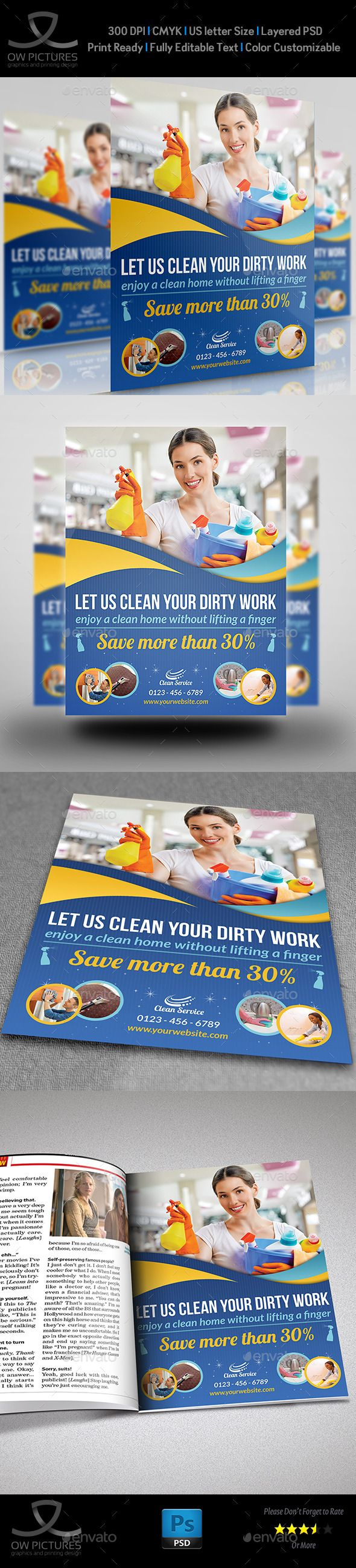 best images about flyers facial massage google cleaning services flyer template vol2