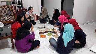 Cooking Class KCC Sejong Jogja - Membuat Bibimbab 비빔밥 만들기