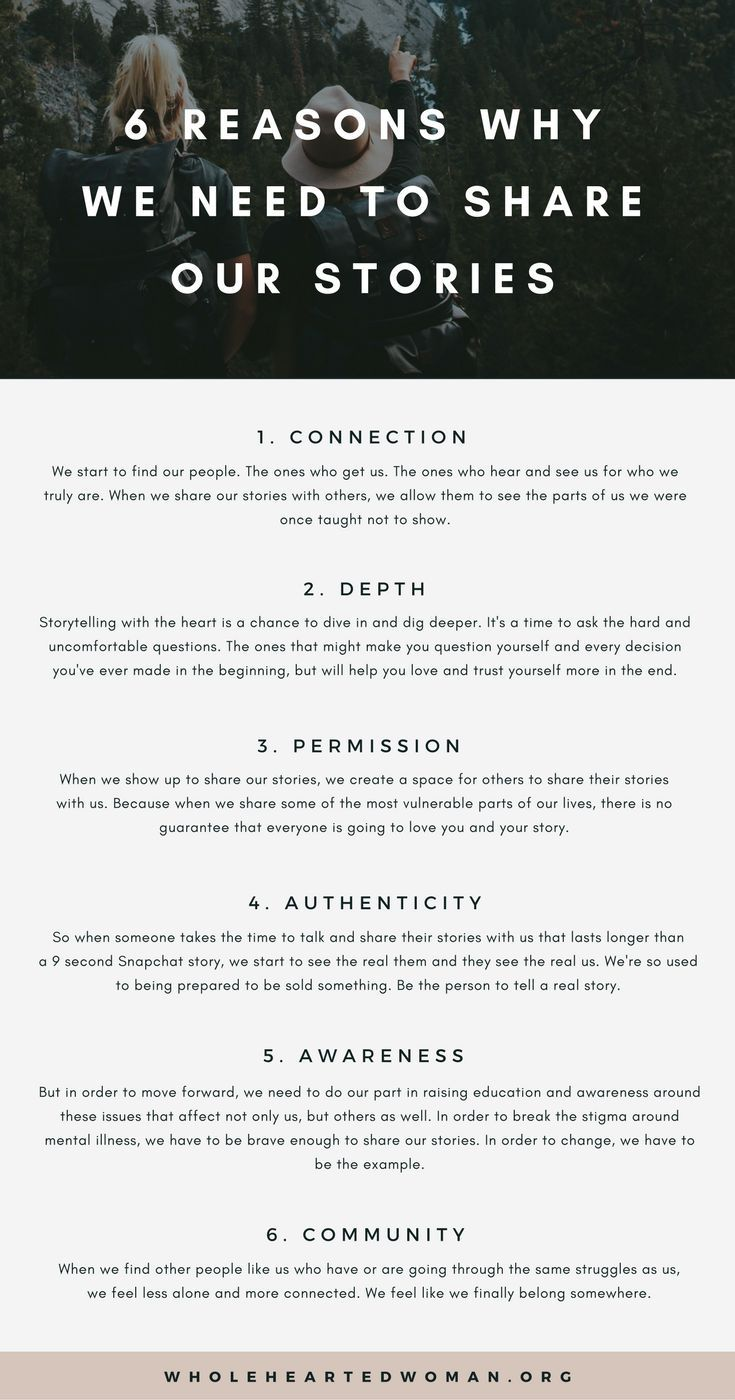 6 Reasons Why We Need To Share Our Stories | Why Storytelling Is Important | Building Community and Trust | Vulnerability and Authenticity | Life Advice | Female Empowerment | Community