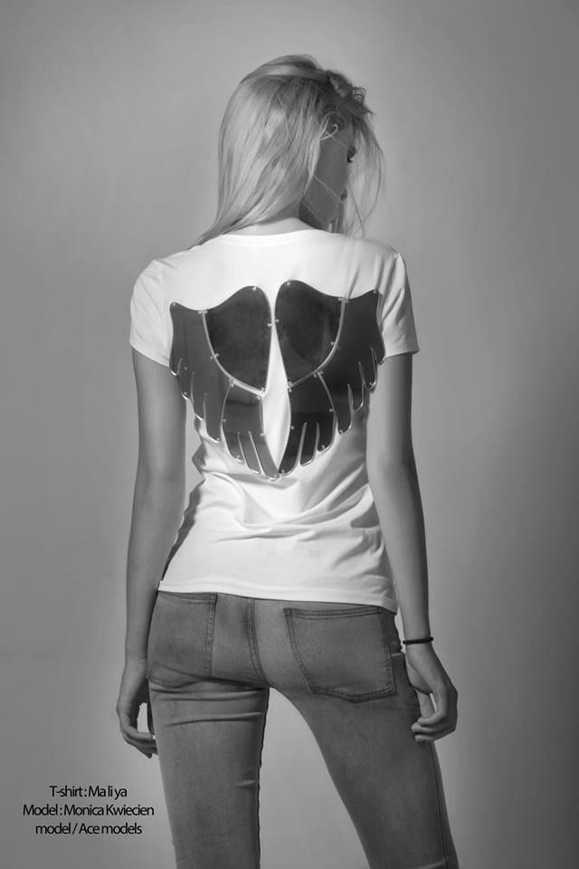 """FaShionFReaks Fights Breast Cancer""  T-shirt: Maliya  Model: Monika Kwiecien / model - Ace Models  Photographer: George-Kwnstantinos Malekakis Fashion editor: Sophia-Christina Raditsa (F*Team) MUA: Alexia Leousi (F*Team) Hair stylist: Faih Tsalta (F*Team)/Vassilis Saroglou (F*Team) Make up Products: Shojo Make up Production: FaShionFReaks.gr"