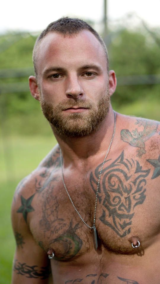 33 best piercings images on pinterest nipple rings for Tattoos for gay men