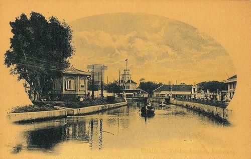 Tempo Doeloe #37 - Semarang, Menara & Kantor Telpon, 1918