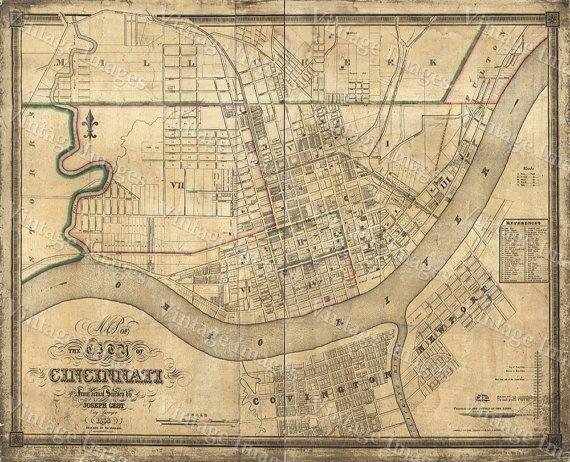 Best Vintage Maps I Sell Images On Pinterest Vintage Maps - Restoration hardware paris map