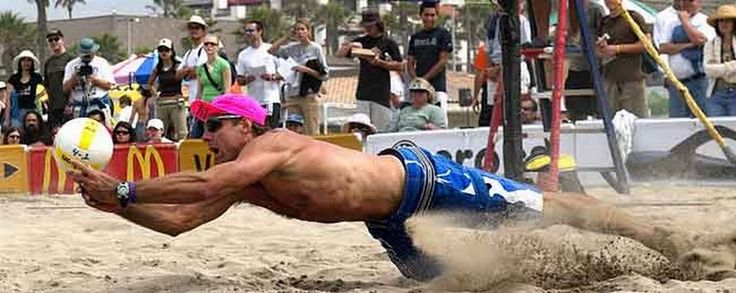 Karch diving beach volleyball