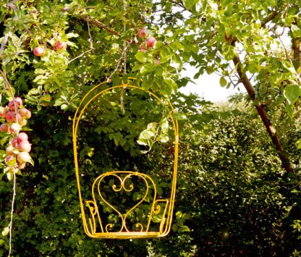 fauteuil-balancoire-metal