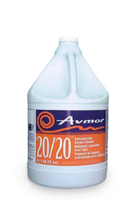 Carpet Cleaner 20/20: Concentrated carpet cleaner (extraction)