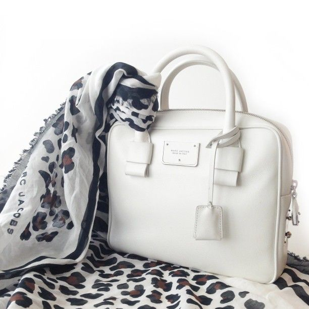 Marc Jacobs Wild Leopard Scarf and The Jack bag