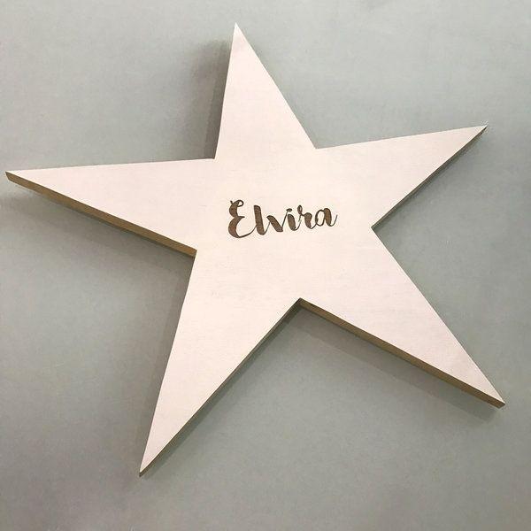 Estrella 60x60cm nombre personalizado