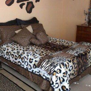 Snow Leopard Bedroom Set