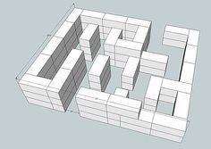 hay bale maze                                                                                                                                                                                 More