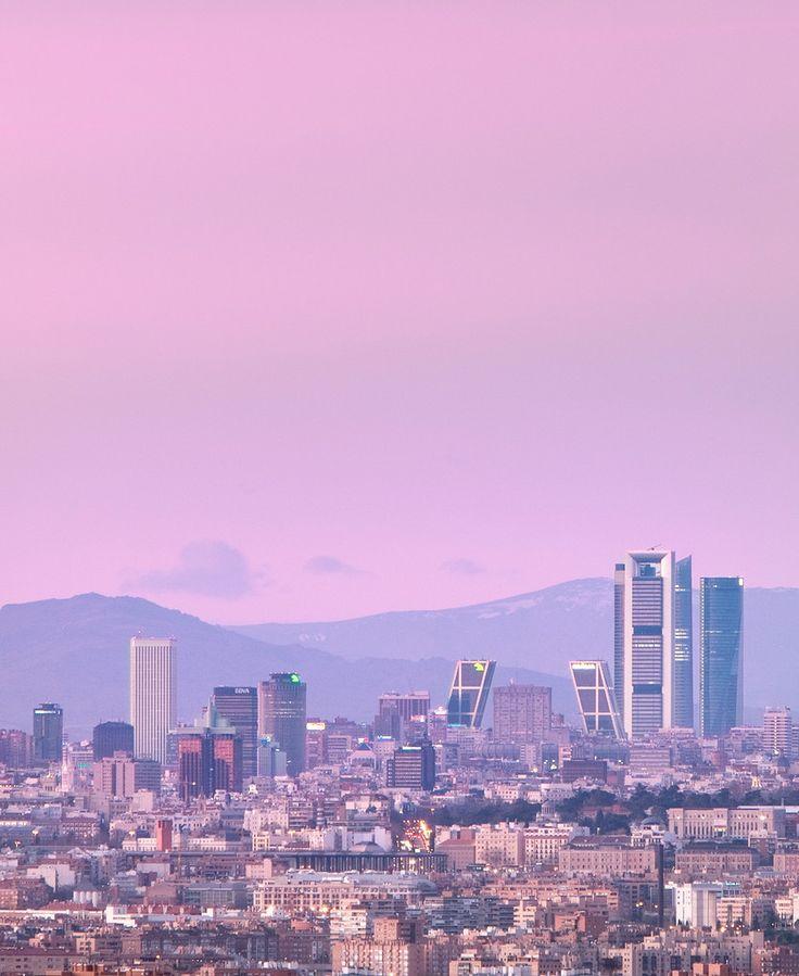 el cielo de #madrid, como quiera verlo, es alucinante